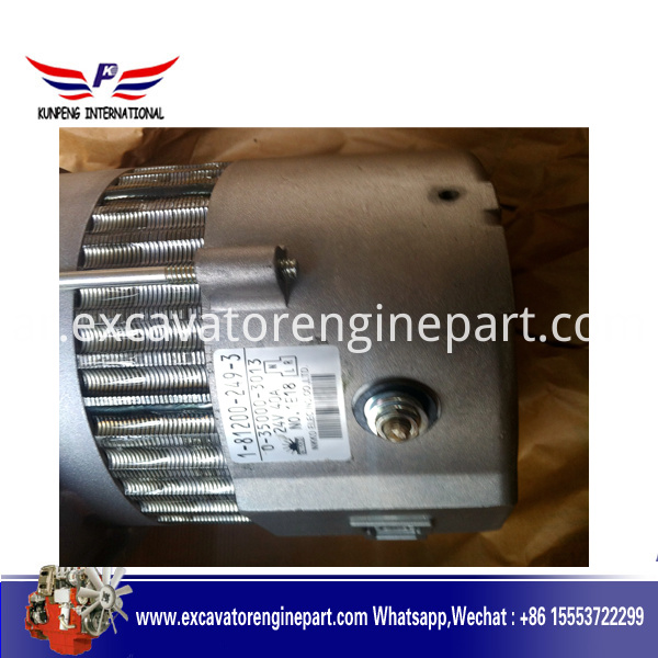 Isuzu engine part 24V starter motor 1812002493