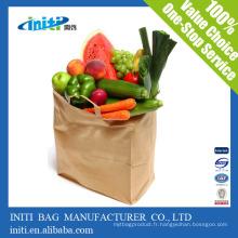 Sacs en papier kraft de haute qualité fabriqués / sacs en papier kraft / papier kraft pour la nourriture