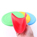 Outside Play Silicone Frisbees Dog Tossing Toys