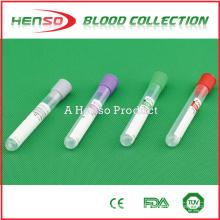 Tubo descartável de sangue sem vácuo HENSO