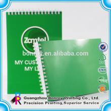 Spiral binding A5 custom notebook printing