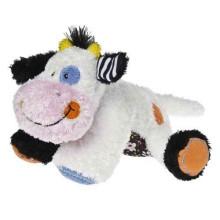 Juguetes de felpa de encargo con la vaca del juguete barato de la felpa del logotipo