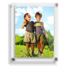 Photofunia / marco de acrílico con estilo, marco magnético de la foto de acrílico