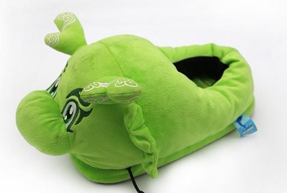Plush Stuffed Indoor Slipper With Cartoon Character Design 1