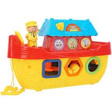 Animal Plug Blocks Ships Educational Toy