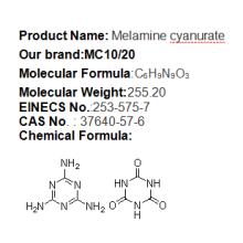 poliamida 6 de cianureto de melamina