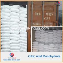 Acidulant del alimento Monohidrato del ácido cítrico E330 / USP / FCC / Bp / Ep