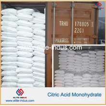 Monohydrate E330 do ácido cítrico do acidulante de alimento / USP / FCC / Bp / Ep