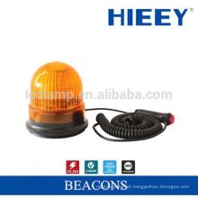 LED lâmpada de alarme âmbar caminhão levou luz de advertência, girando magnético e strobe flash luz Strobe Beacon, LED Strobe Light