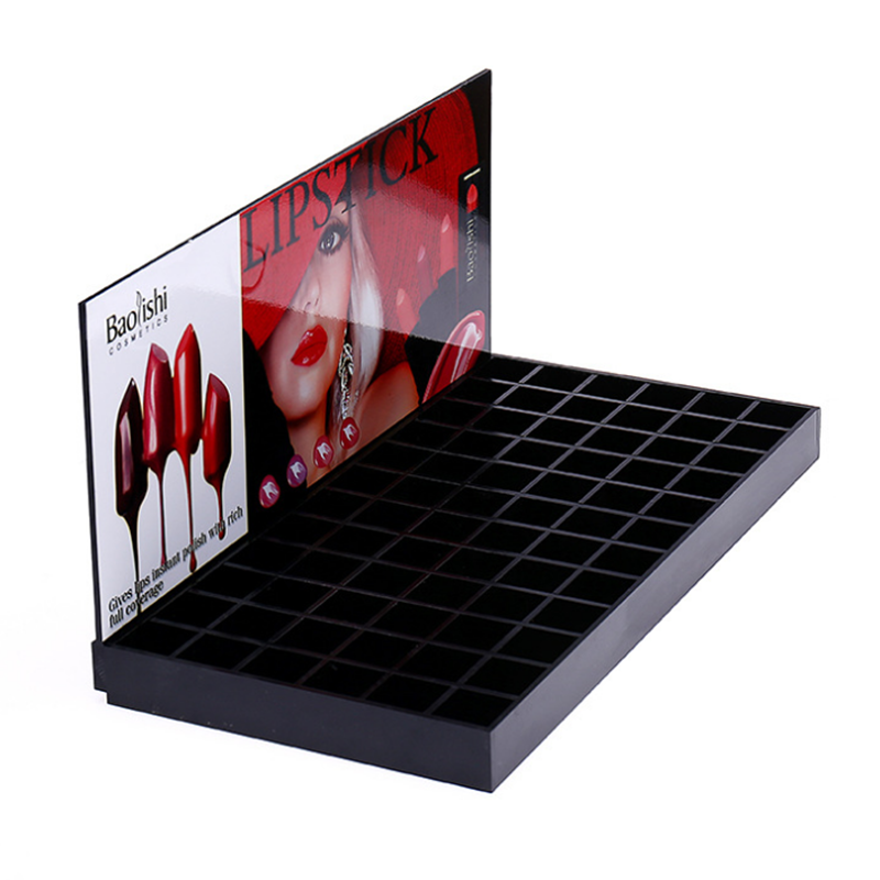 Lipstick Counter Stand