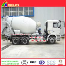Cimento do caminhão de Sinotruk HOWO / misturador concreto para a venda