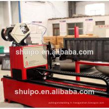 Machine ondulée automatique de soudure de plat / machine ondulée de soudure de faisceau de bande