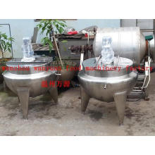 Stainless Steel Jacketed Cooling Vessel (50L~600L customized)