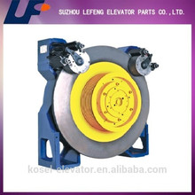 high quality lift traction machine, elevator traction machine factory in China