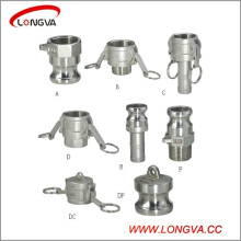 Stainless Steel Camlock Quick Couplings Type a, B, C, D, E, F, DC, Dp