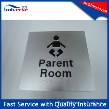 Custom Fancy Tactile Braille Sign Signages