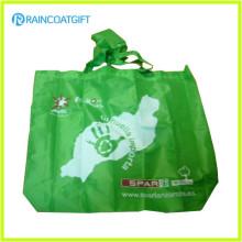 Promotional 210t Polyester Folding Shopping Bag RGB-023
