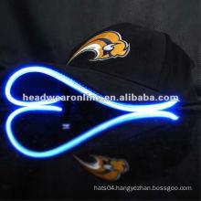 LED fiber optic cap Adjustable Hat Sports Caps