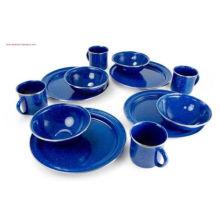 Küchenutensilien, Emaille Teekanne, Emaille Kochgeschirr Kessel, Camping Enamel Wasserkocher