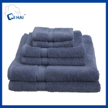 100% Baumwoll-Satin-Handtuch-Sets (QHB4485)