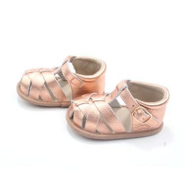 Summer Toddler Shoes Flat Kids Sandaler grossist