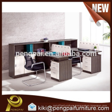High end 2 person office partition design