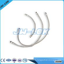 High pressure stainless steel metal hose reel wall mounted