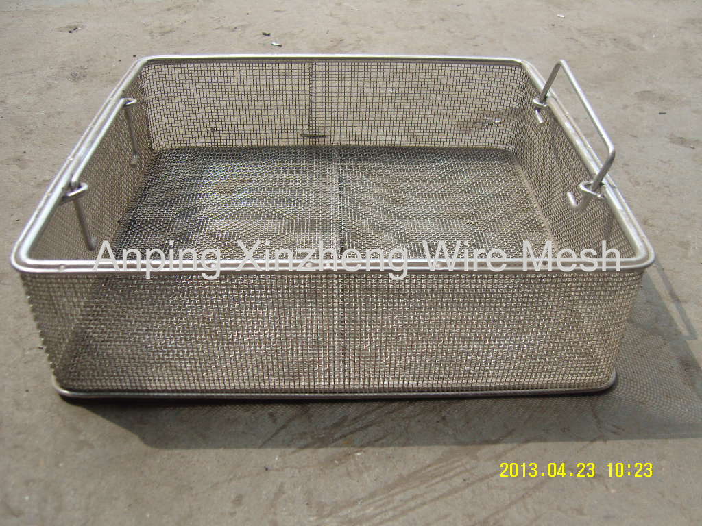 Disinfect Metal Basket