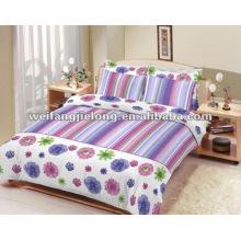 tela de poliéster estampada para ropa de cama