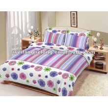 printed polyester fabric for bedclothes