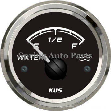 Sq Series 52mm Water Level Gauge Liquid Level Meter with Backlight