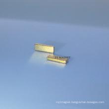 High Quality Block NdFeB Neodymium Magnet with Glod