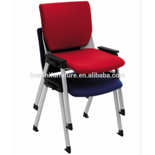 Padded stackable church chair