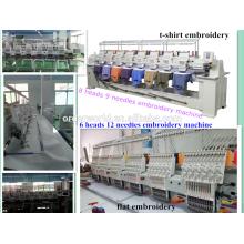 embroidery tajima 6 head for sale 9 needles 8 head Wonyo embroidery machine WY908C made in China