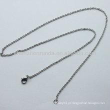 2013 encantadora moda frisado colares jóias declaração colar de aço inoxidável lagosta clasps