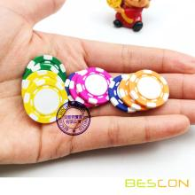 Hochwertige Mini-Custom Ton Composite Pokerchips, reinen Ton Mini Poker Chip