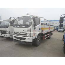 YUEJIN 5 meter cylinder carrier truck for sale