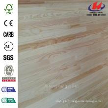 2440 mm x 1220 mm x 10 mm Cotation Prix réduit Grain Surface Grade AB Rubber Wood Dinger Joint Board