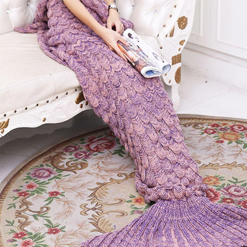 Selimut Mermaid Tail Handmade