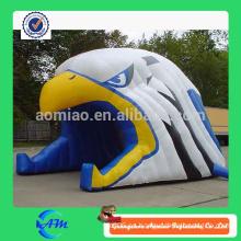 Túnel inflable de la cabeza del águila para la venta