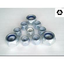 DIN 982 Hochwertige Edelstahl-Sechskant-Nylon-Sicherungsmutter