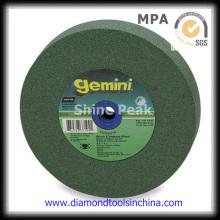 Muela de piedra de carburo de silicio verde
