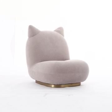 Popular Cute Fabric Cat Chair
