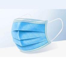 Professional Factory Hot Sale 3 Ply Blue Face Disposable Civilian Masks