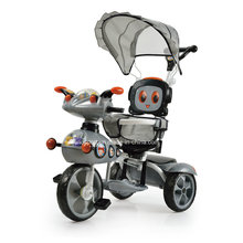 Popular Model Cartoon Robot Baby Tricycle with Cup Holder (SNTR857-6 GREY)