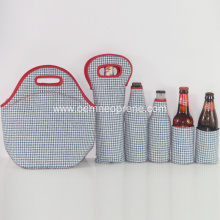 2018 Newest Style Neoprene Insulated Lunch Bags