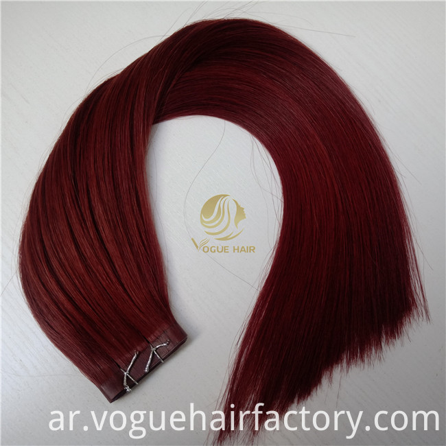 vogue hair pu skin weft