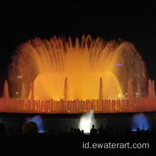Musical Dancing Floating Water Fountain