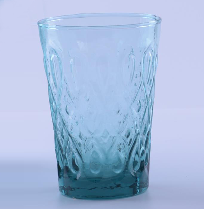 Blue Colored glassware
