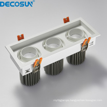 Rectangular AC230V Dimmable Square LED Ceiling Downlights